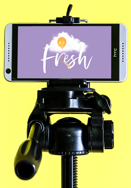 tips for professional video Smart phone on stand